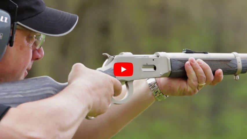 Mossberg 464 Brush Gun Lever Action on Gallery of Guns TV