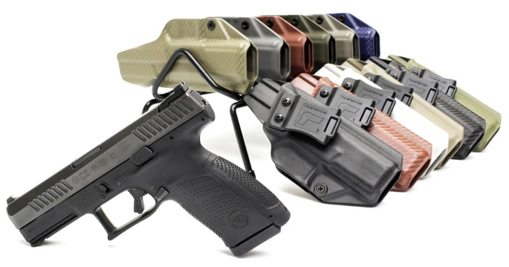 Tulster IWB Profile Holsters for CZ P-10 C