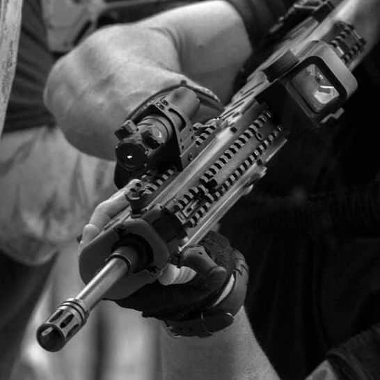 Firefield Speedstrike Laser Sight on Rifle