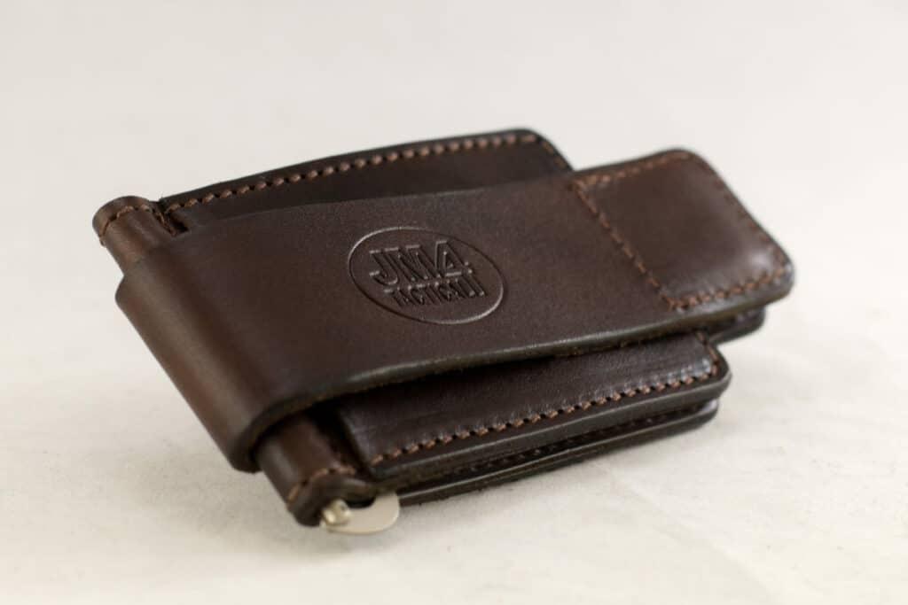 JM4 Tactical Magnetic Leather Wallet