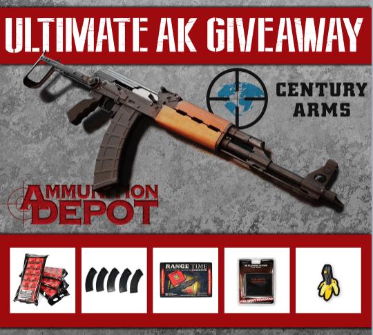 AK Rifle Giveaway - Win a N-PAP DF underfolder AK-47 rifle