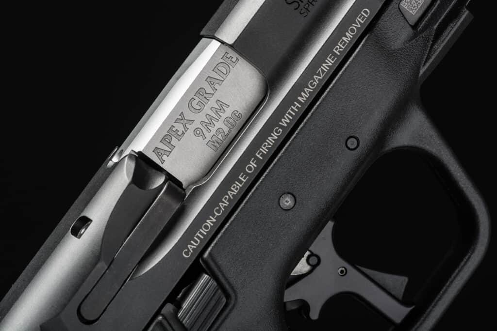 Apex Flat-Faced Trigger for M&P M2 0