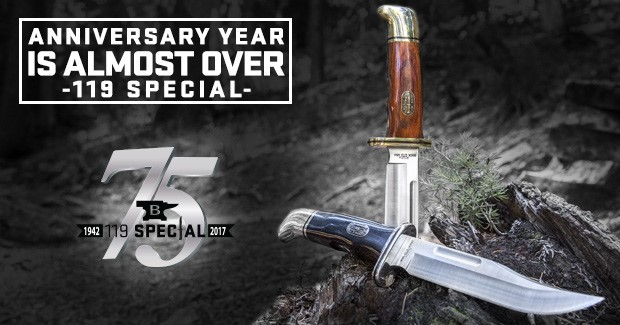 Buck Knives 75th Anniversary Edition 119 Special