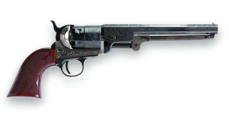 Cimarron 1851 Navy Laser Engraved Revolver