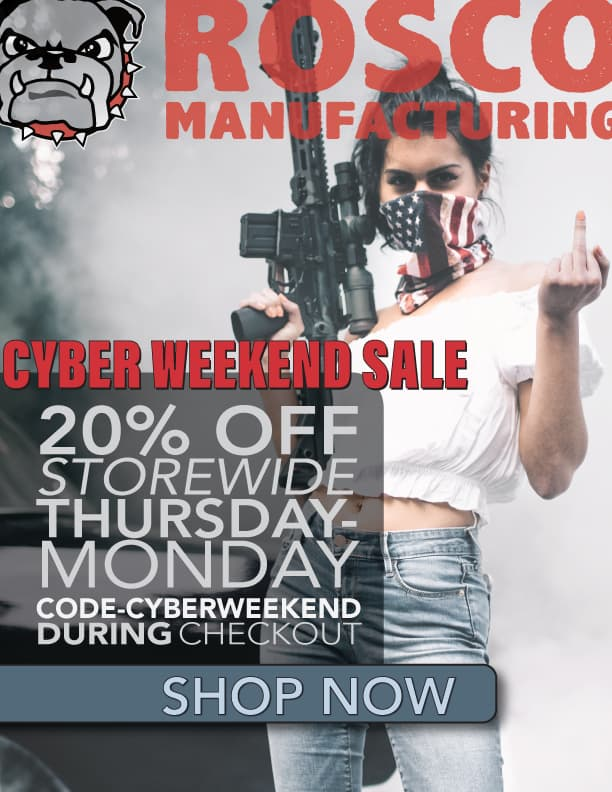 Rosco Manufacturing Cyber Weekend Sale 2017