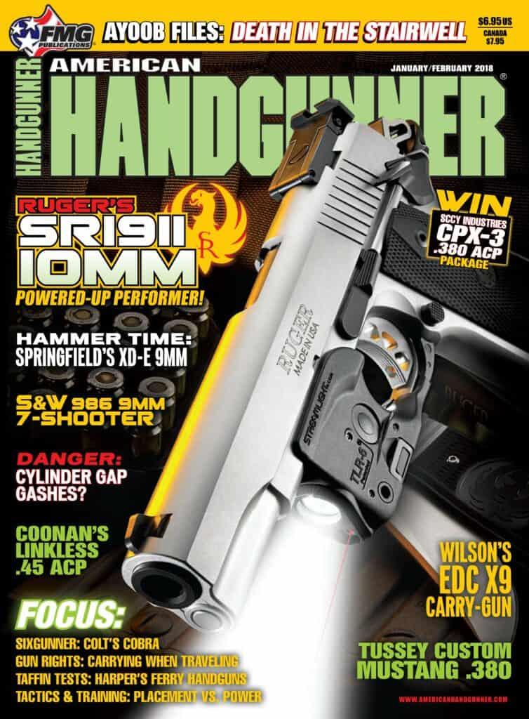 Ruger SR1911 10mm in American Handgunner