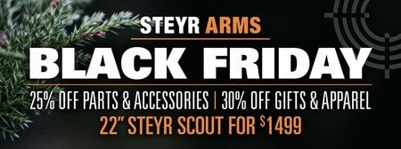 Steyr Arms Black Friday & Cyber Monday Specials