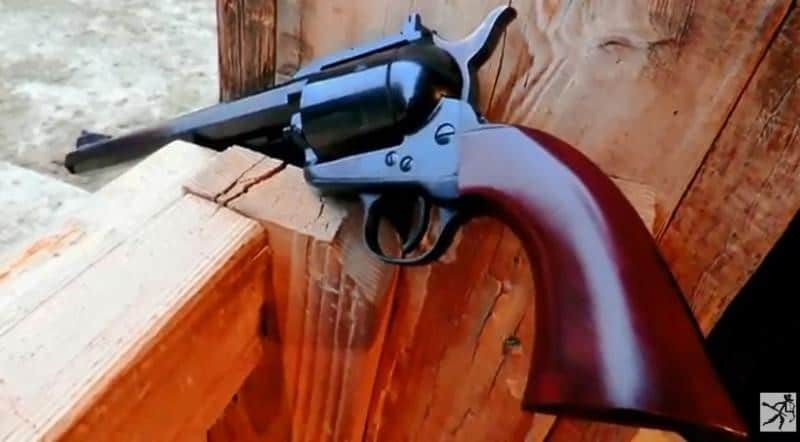 Cimarron Bad Boy 44 Magnum Single-action Army Style Revolver & The Adventure Cowboy