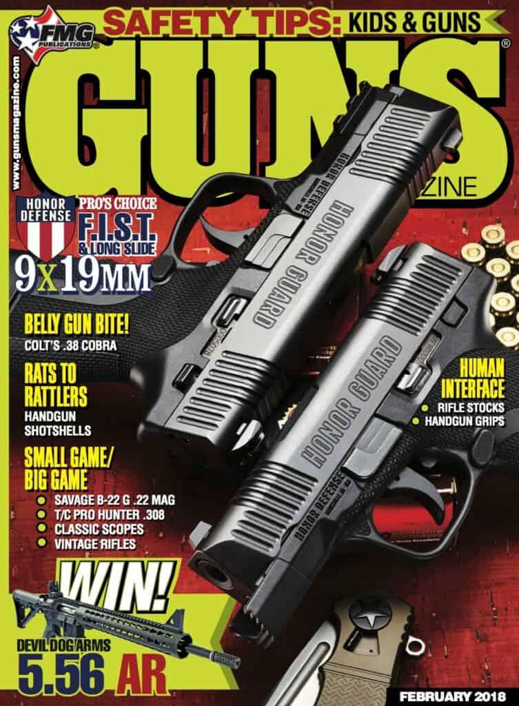 Honor Defense Honor Guard 9mm Striker-fired Pistol in GUNS Magazine