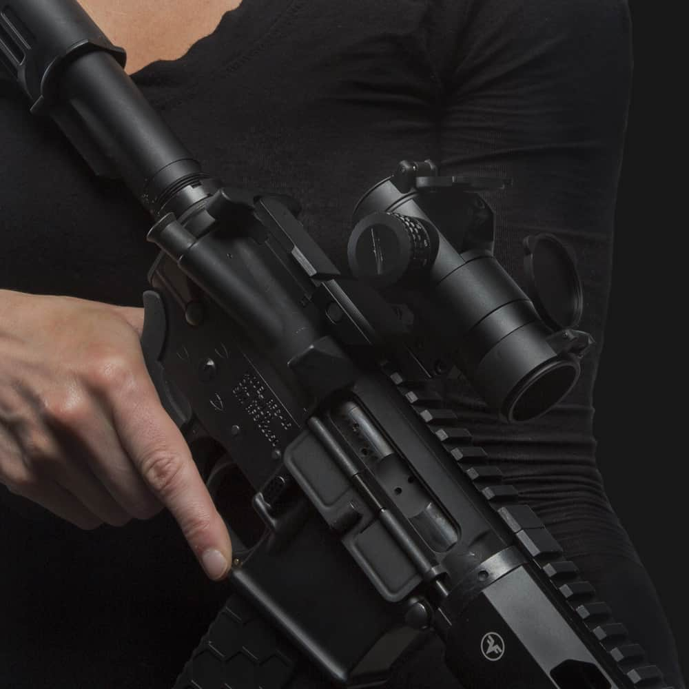 Sightmark Element 1x30 Red Dot Sight on Rifle