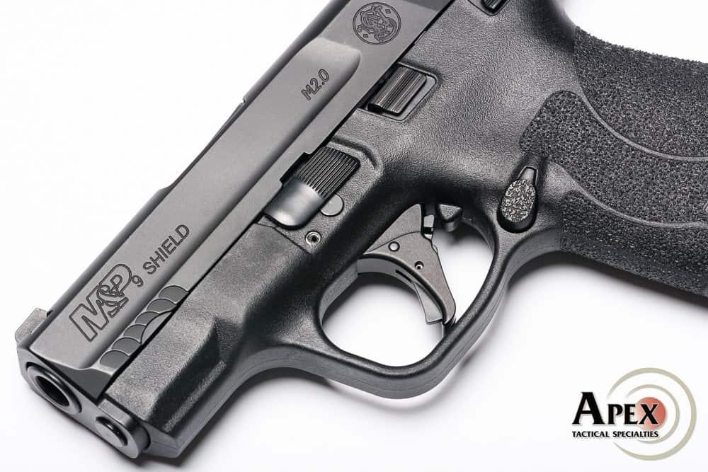 Apex Trigger Kit on M&P Shield 2_0