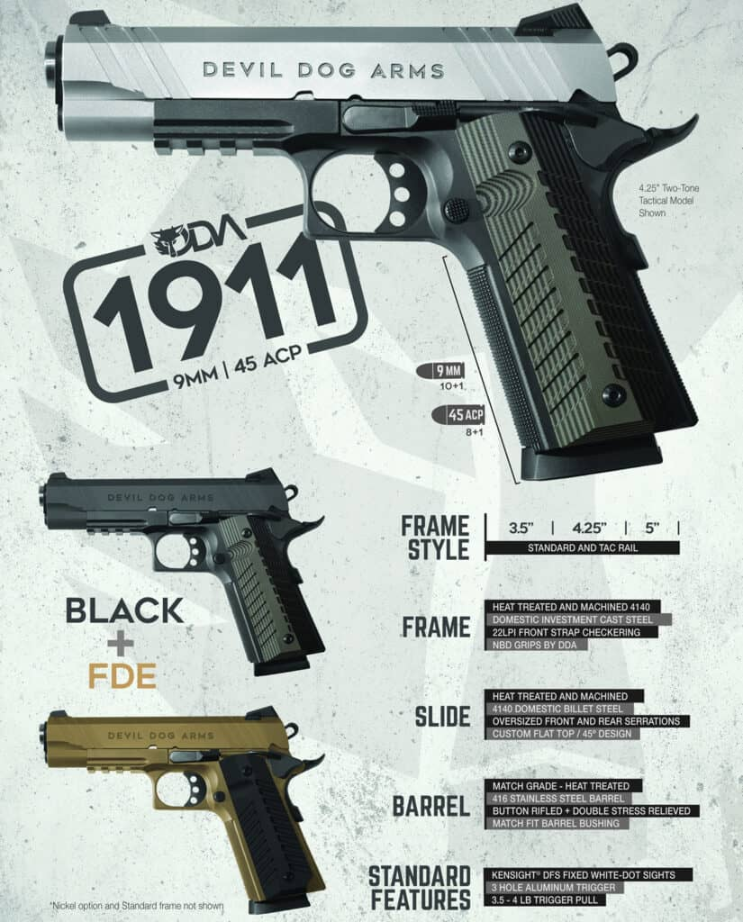Devil Dog Arms 1911 Pistols
