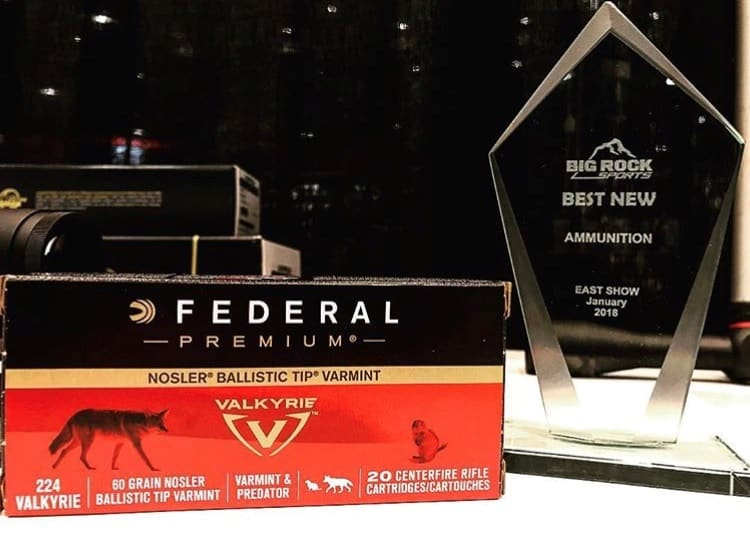 Federal Premium 224 Valkyrie Named Best New Ammunition