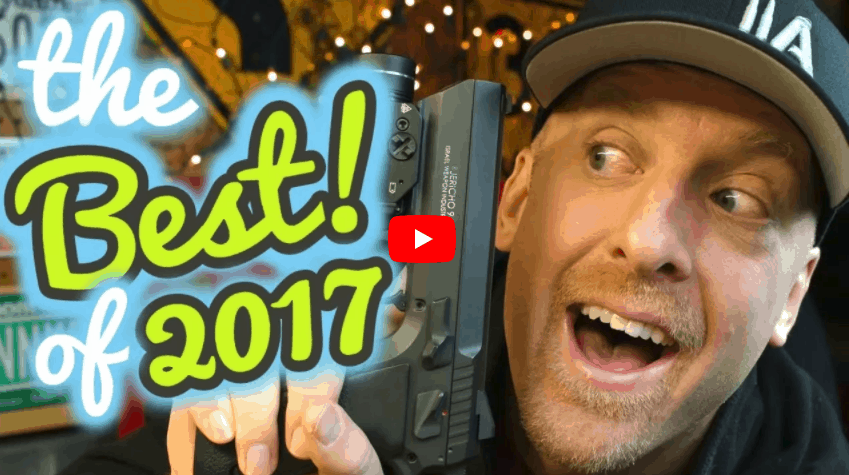 Jericho 941 F9 Named Favorite Gun of 2017 by 180 Second Ideas