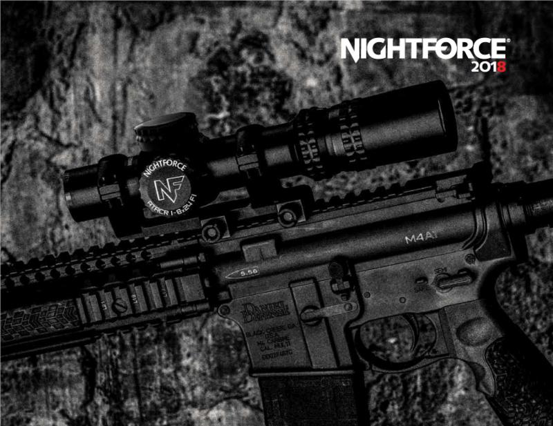 Nightforce Optics Exhibiting New Precision Optics and Reticles at SHOT Show