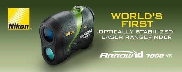 Nikon ARROW ID 7000 VR Rangefinder Awarded Bowhunting World GOLD