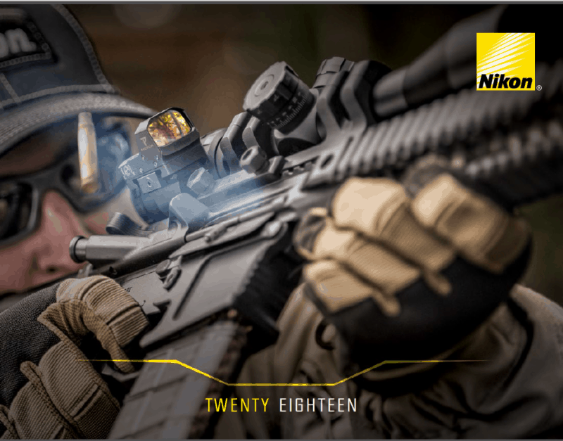 Nikon Announces New Products at SHOT Show 2018
