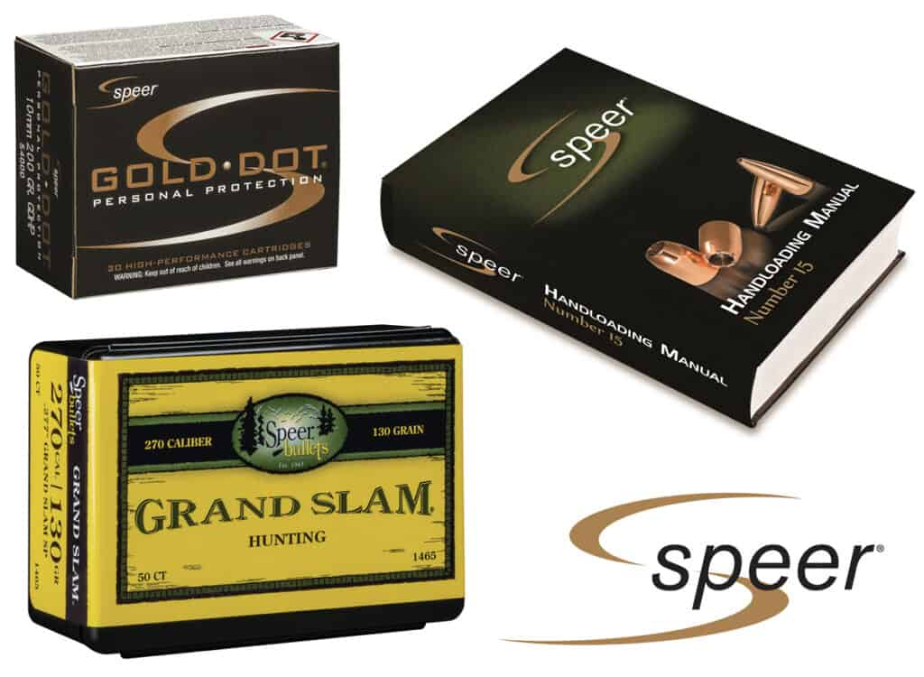 Speer to Launch New Products at 2018 SHOT Show