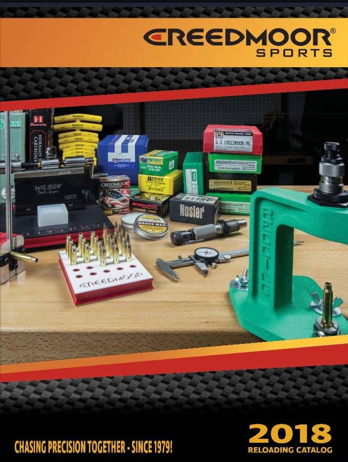 Creedmoor Sports Reloading Catalog