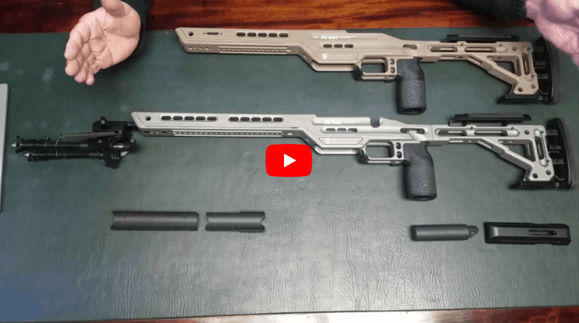 MasterPiece Arms MPA BA Hybrid Rifle Chassis