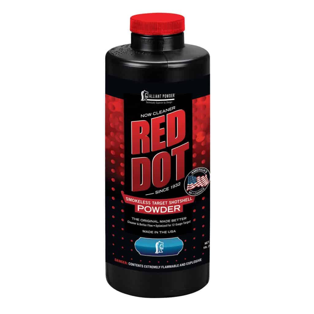 Alliant Powder Red Dot Smokeless Target Shotshell Power
