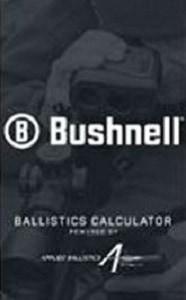 Bushnell Ballistics Calculator App