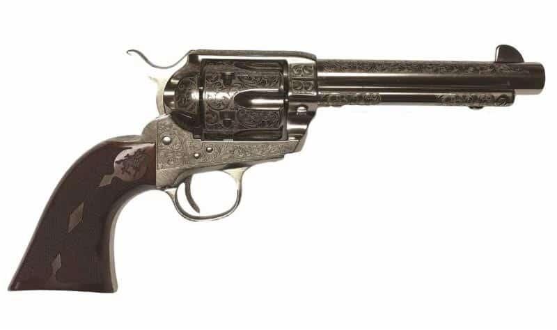 Cimarron Firearms Buffalo Bill Signature Series Frontier Revolver