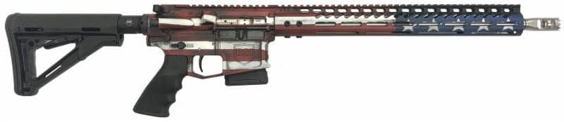 DS-15 Signature Series Freedom Flag 556 Fixed Mag Rifle