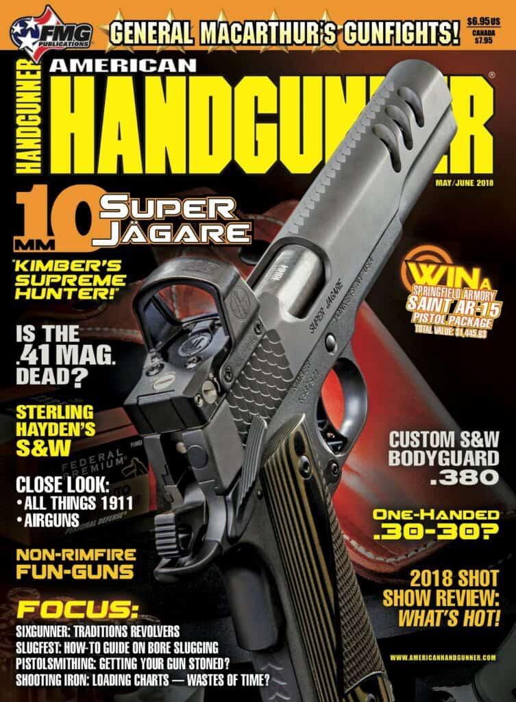 Kimber Super Jägare 10mm Handgun Featured In American Handgunner