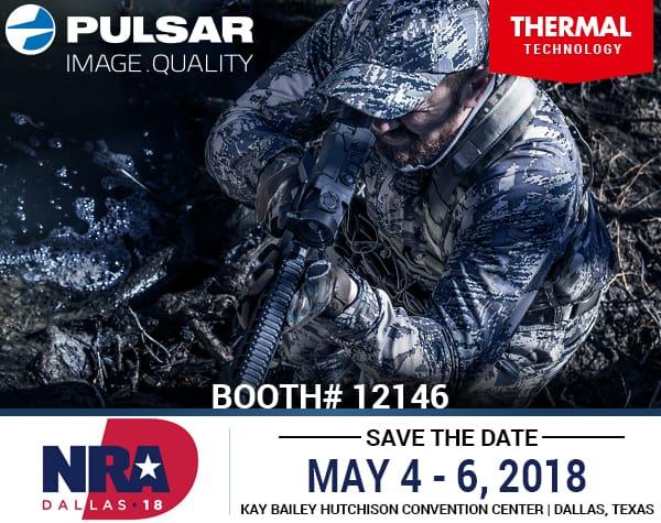 Pulsar Digital Night Vision & Thermal Optics at 2018 NRA Annual Meetings and Exhibits