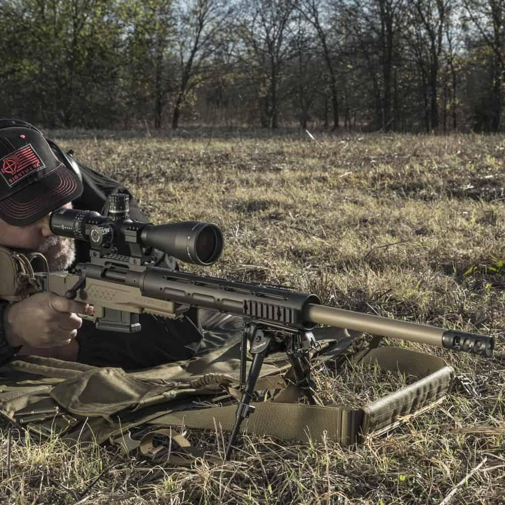Sightmark Latitude Long-Range Riflescope on Rifle