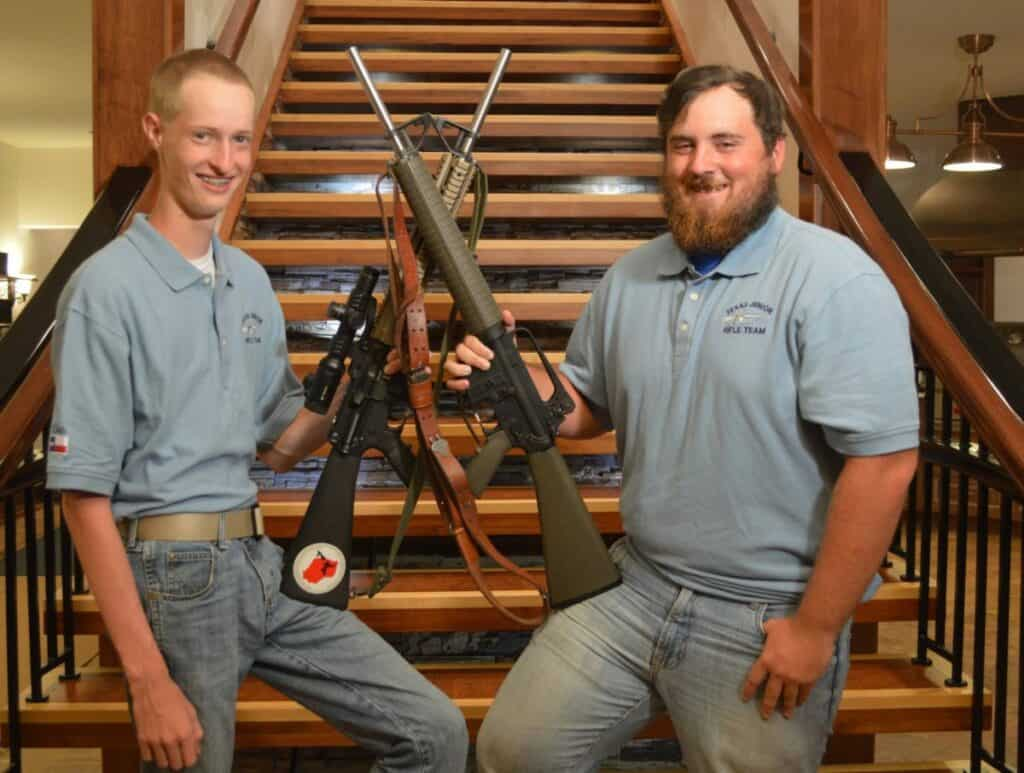 Two of the Top Texas Junior Shooters