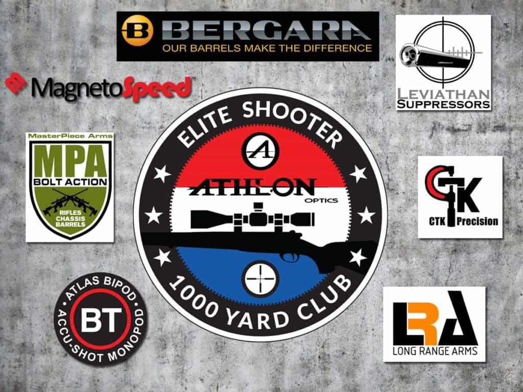 Athlon Optics 1000 Yard Club Giveaway
