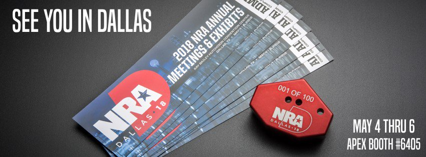 Apex Tactical Specialties at NRA Annual Meetings and Exhibits