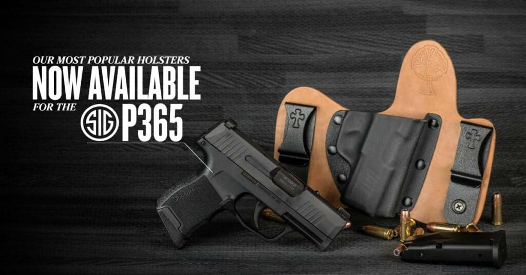 SIG P365 Holsters from CrossBreed Holsters