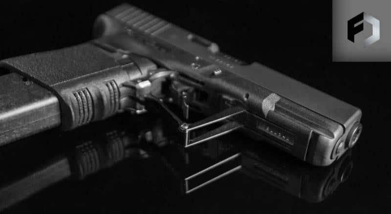 FULL CONCEAL M3D Folding Pistol Conversion for Glock Pistols