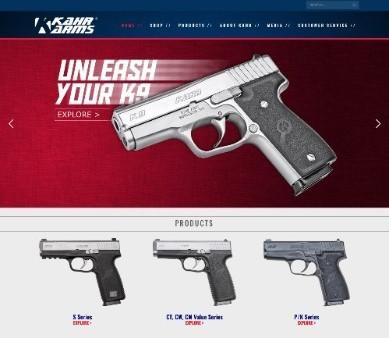 Kahr Arms Website