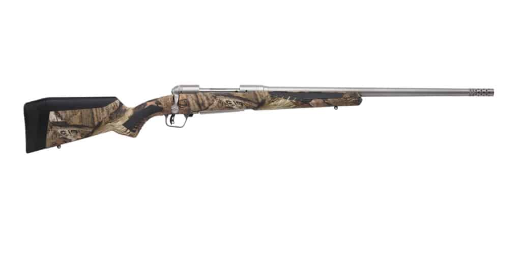 Savage 110 Bear Hunter Rifle with Mossy Oak Break-Up Country Synthetic Stock