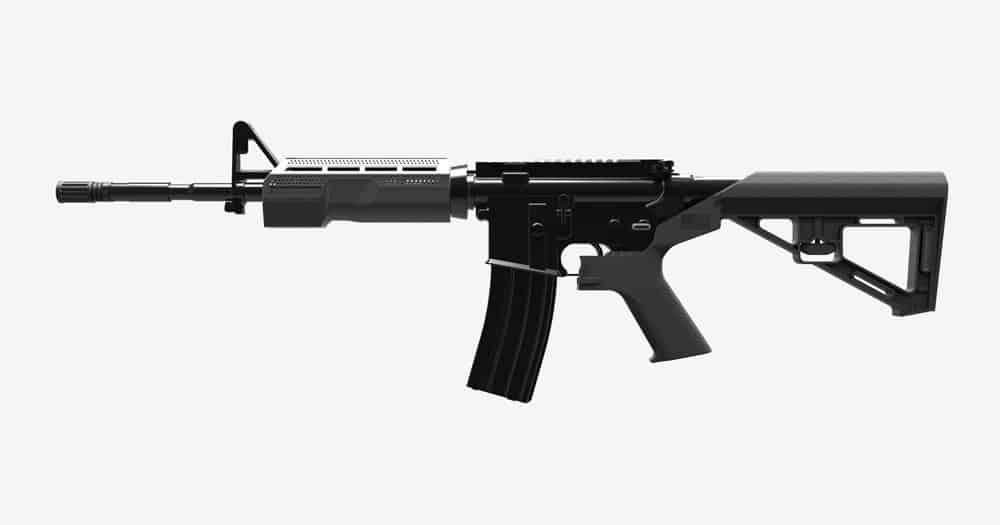 Slide Fire Bump Fire Stock on AR-15