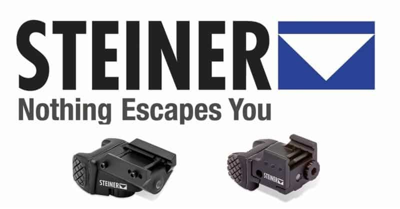 Steiner Pistol-Aiming Lasers - TOR Micro & TOR Mini