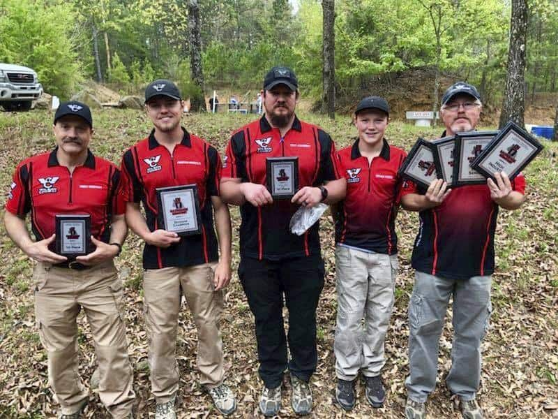 Wilson Combat Shooting Team at Razorback Shootout