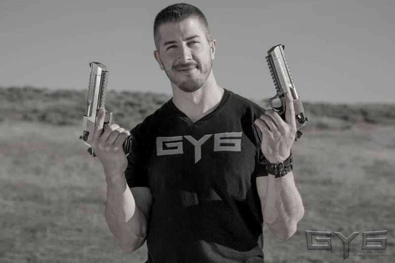 Andrew Boetjer of GY6Vids at NRA Show