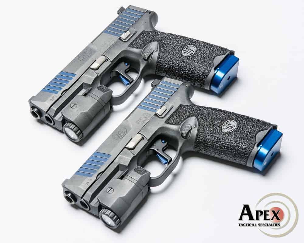 Apex and FN Collaborate on Thin Blue Line FN 509 Pistols