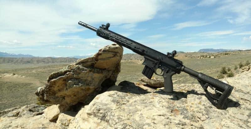 Big Horn Armory AR500 Semi-Auto Rifle with Adaptive Tactical Stock