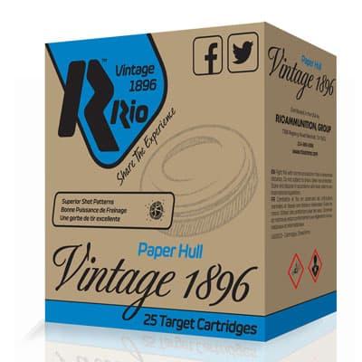 Rio Ammunition 1896 Paper Target Loads