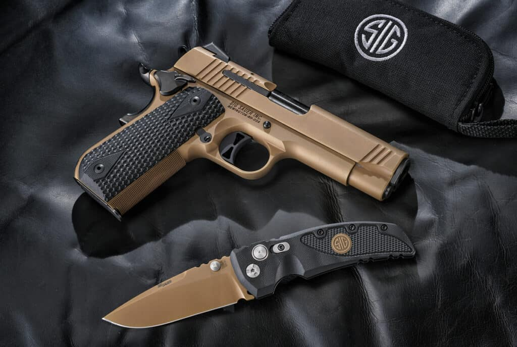 Sig Emperor Scorpion with Sig Knife