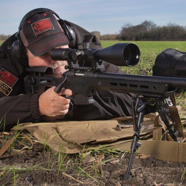 Sightmark Citadel Riflescope on Rifle