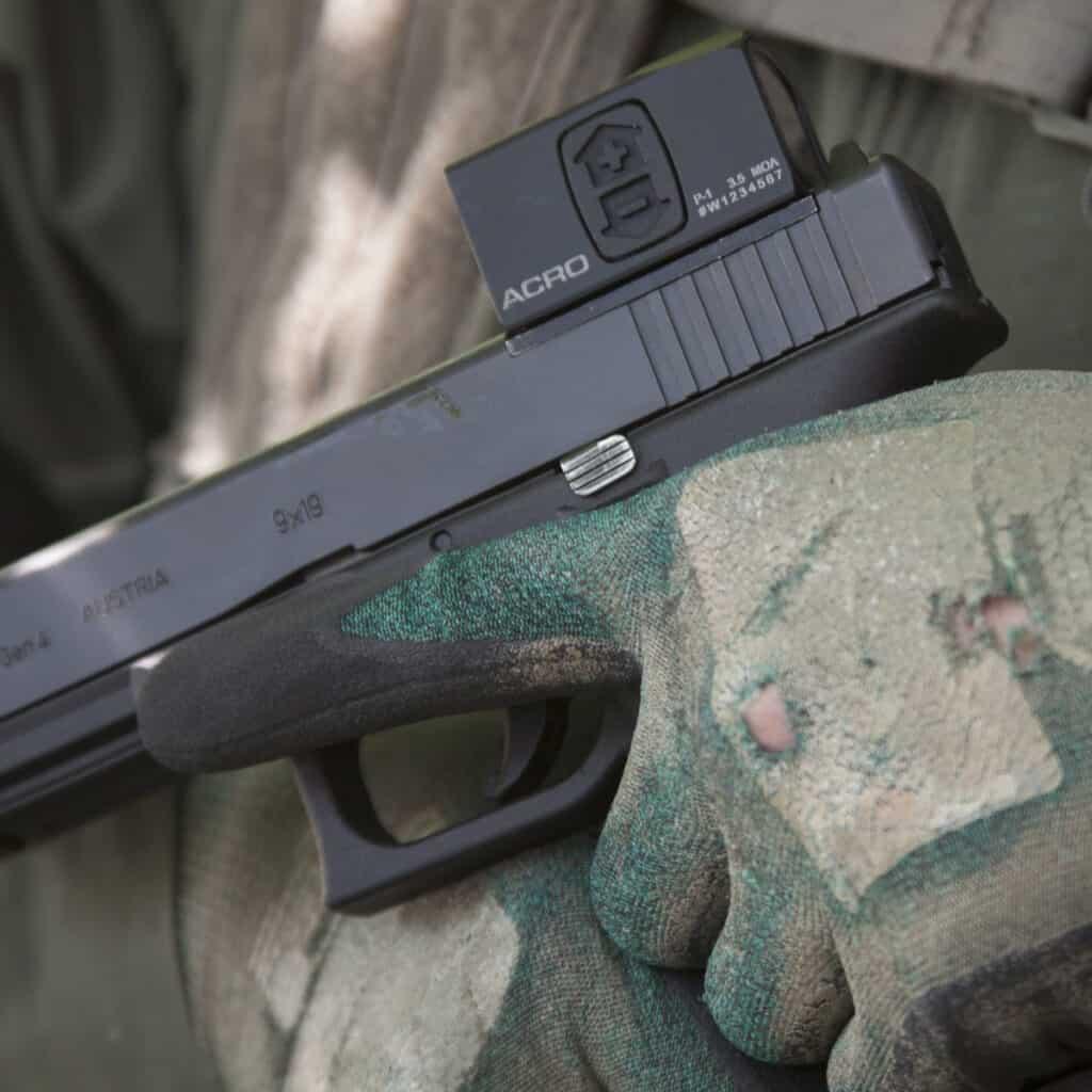 Aimpoint ACRO on Glock