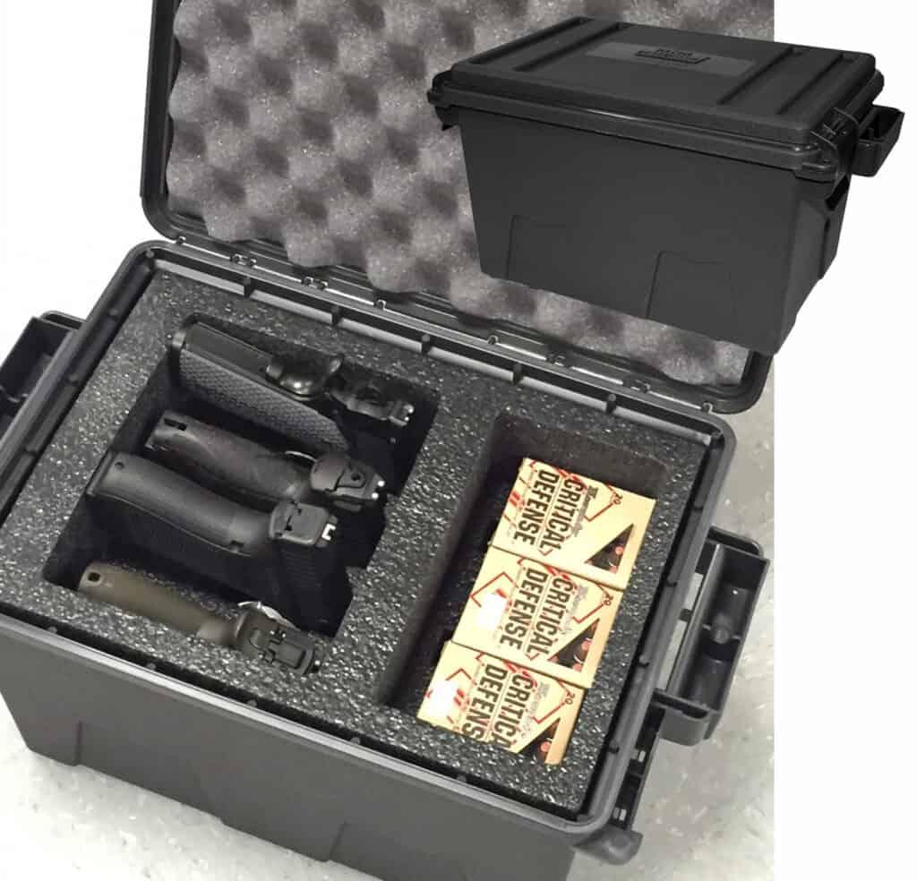MTM CASE-GARD Tactical Pistol Case - TPC4