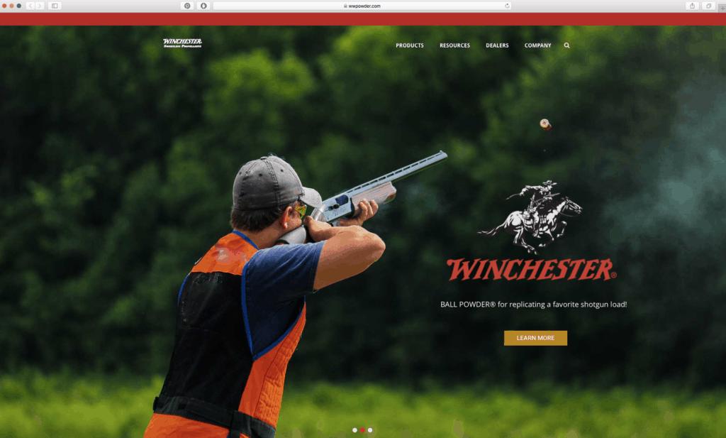 New Winchester Website